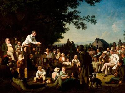 Stump Speaking, 1853–54