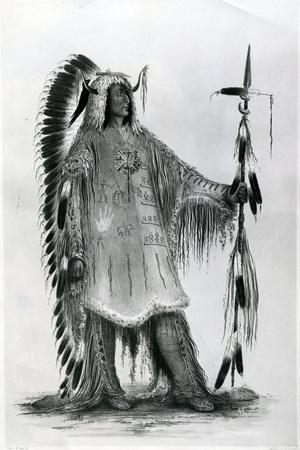 Mato-Tope, Second Chief of the Mandan People, C.1833