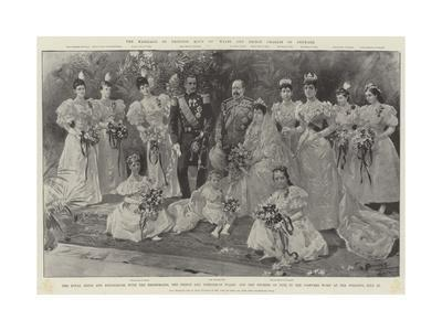 The Marriage of Princess Maud of Wales and Prince Charles of Denmark