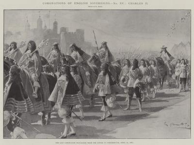 Coronations of English Sovereigns, Charles Ii