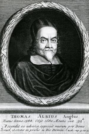 Portrait of Thomas Albius (White) (1588-1680), 1713