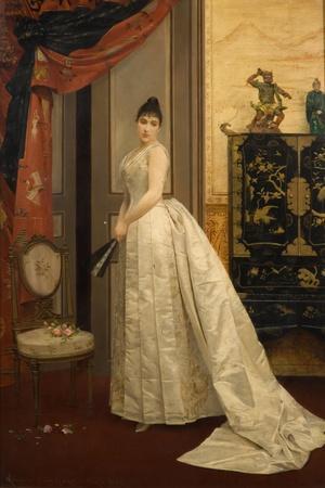 Lady with a Fan, 1888