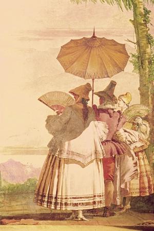The Summer Promenade, C.1757