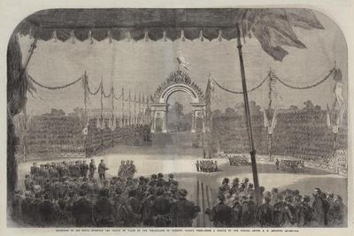 Reception of His Royal Highness the Prince of Wales by the Inhabitants of Toronto, Canada West