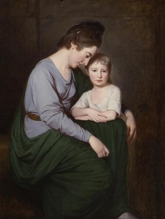 Ann Wilson with Her Daughter, Sybill, C.1776-77