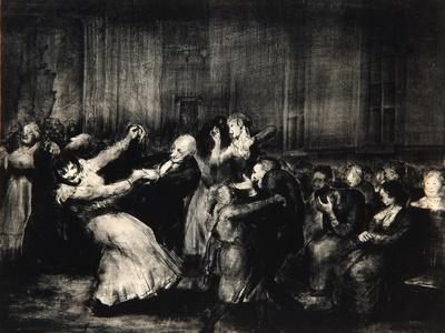 Dance in a Madhouse, 1917