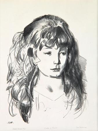 Sketch of Anne, 1923-24
