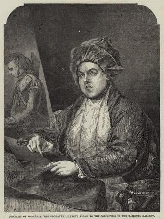 Portrait of Woollett, the Engraver; Lately Added to the Collection in the National Gallery