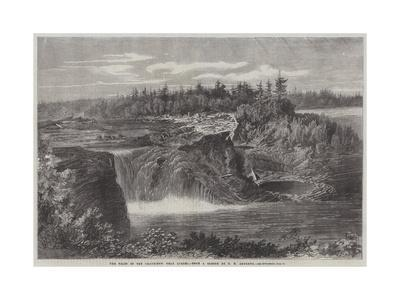 The Falls of the Chaudiere, Near Quebec