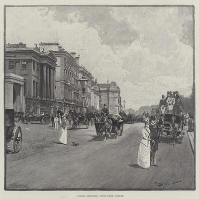 London Sketches, Hyde Park Corner