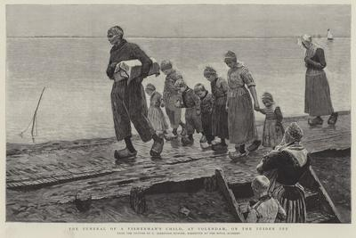 The Funeral of a Fisherman's Child, at Volendam, on the Zuider Ze