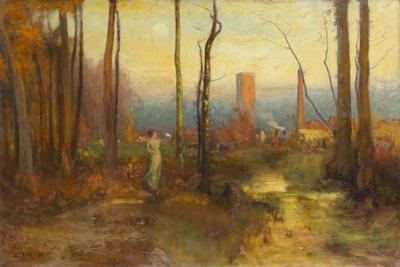 The Mill Stream, Montclair, New Jersey, C.1888