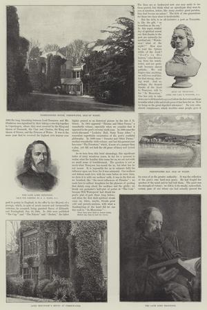 Alfred, Baron Tennyson, Poet Laureate