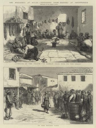 The Massacres at Batak, Imprisoned Bashi-Bazouks at Philippopolis