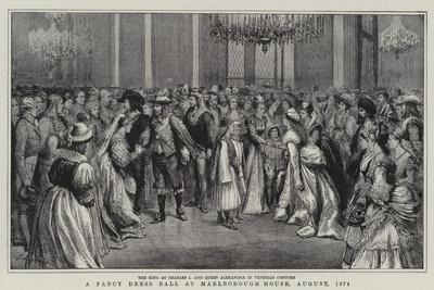 A Fancy Dress Ball at Marlborough House, August 1874