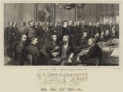 A Meeting of the Stafford House Committee