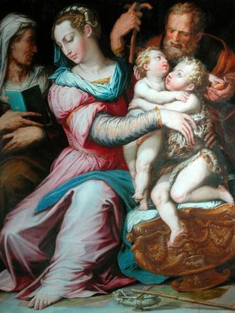 Holy Family with St John