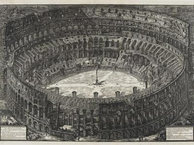 View of Flavian Amphitheater, Called the Colosseum, from Views of Rome, 1776