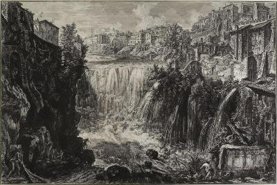View of the Grand Cascade at Tivoli, 1766