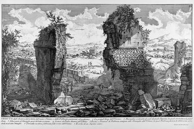 Rome, View of the Ruins of Ancient Ustrinum (At Via Appia), C.1747-78