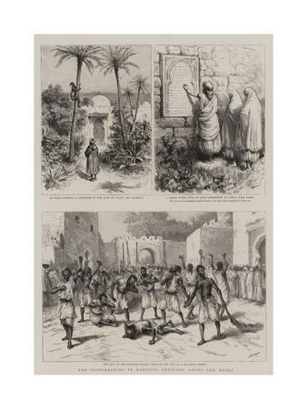 The Disturbances in Morocco, Sketches Among the Moors