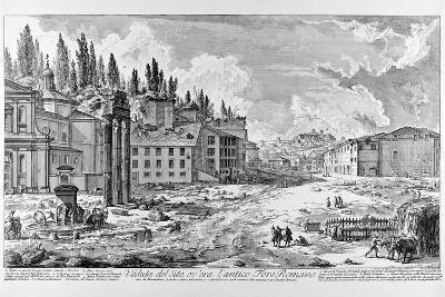 View of the Roman Forum, C.1747-78