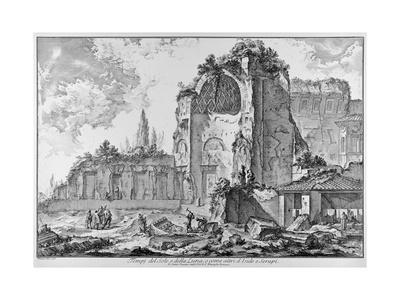 Rome, Roman Forum, Temple of Venus and Roma, C.1774-78