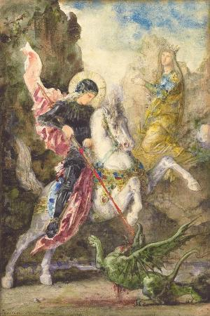 St. George and the Dragon, 1869