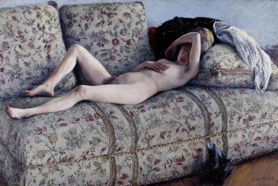 Nude on a Couch, C.1880