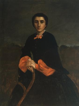 Portrait of a Woman: Juliette Courbet, 1860