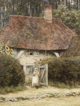 At the Cottage Gate