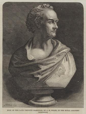 Bust of the Late Viscount Hardinge