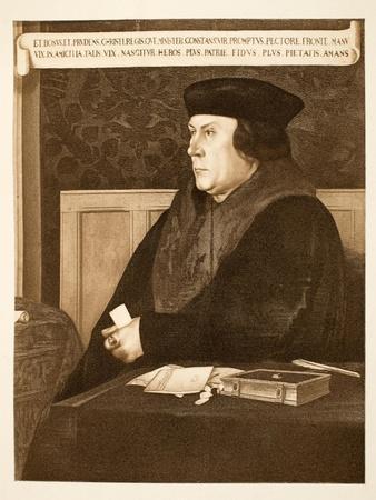 Thomas Cromwell, Earl of Essex, C.1537