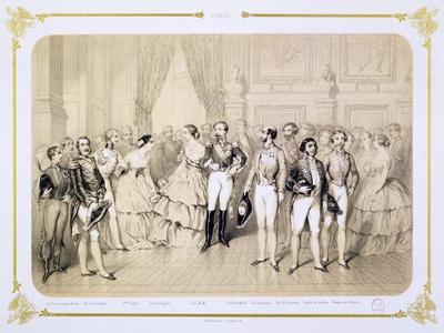 Court Reception at the Tuileries, Paris, 1854