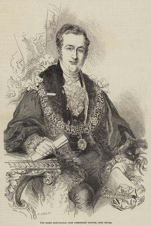 The Right Honourable John Kinnersley Hooper, Lord Mayor