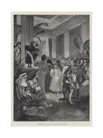 The Children's Fancy-Dress Ball at the Mansion House