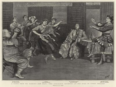 A Scene from Mr Barrie's New Play, The Admirable Crichton, at the Duke of York's Theatre