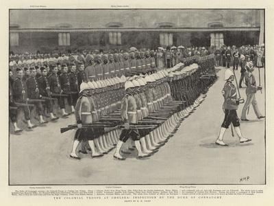 The Colonial Troops at Chelsea, Inspection by the Duke of Connaught