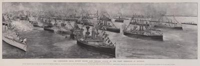 The Coronation Naval Review before King Edward, 16 August, the Fleet Assembled at Spithead
