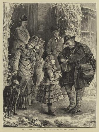 Christmas in the Country, Arrival of the Postman