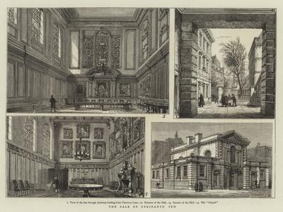 The Sale of Serjeants' Inn