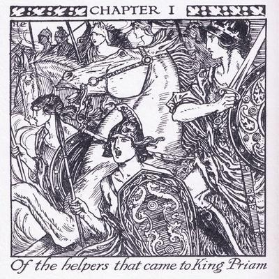 Of the Helpers Who Came to King Priam