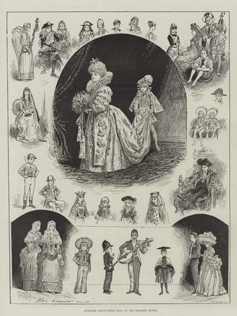 Juvenile Fancy-Dress Ball at the Mansion House