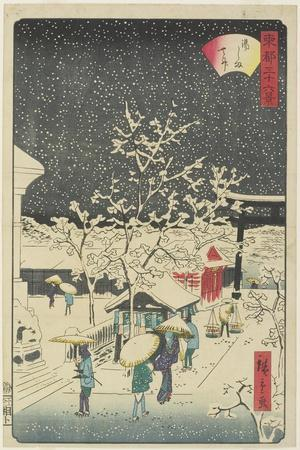 Yushima Shrine, September 1862