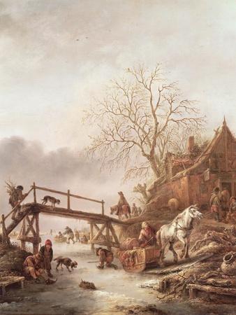 A Winter Scene, 1640