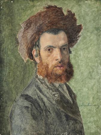 Portrait of a Young Hasidic Jew