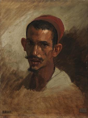 Study for the Head of a Young Arab, C.1860-62
