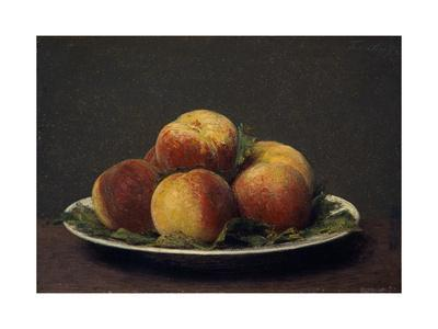 Peaches on a Dish, 1873