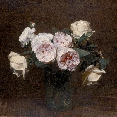 Still Life: Pink, White and Yellow Roses, 1894