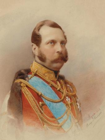 Portrait of Alexander II (1818-1881)